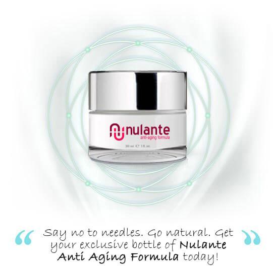 Nulante Anti Aging Formula Jar